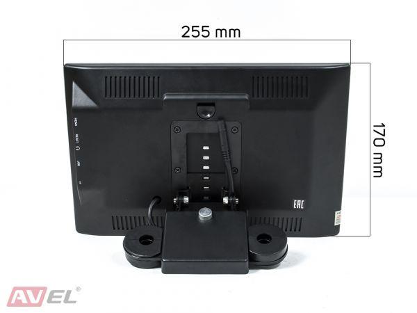 """Навесной монитор на подголовник с сенсорным экраном 10.1"""" на Android AVS1055AN"""