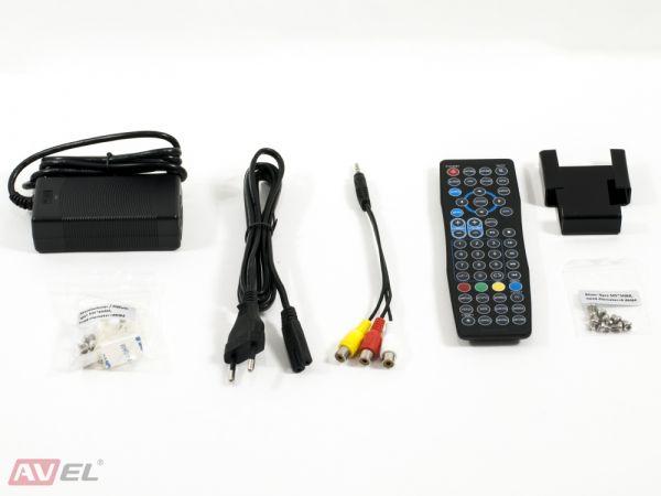 Встраиваемый телевизор для кухни AVS220W (белая рамка)