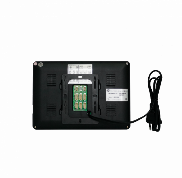 Монитор видеодомофона ST-M200/7 (S/SD) ЧЕРНЫЙ