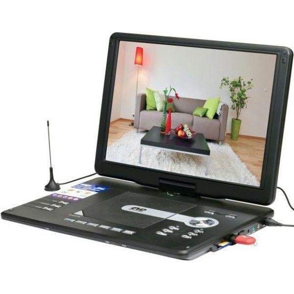 """Портативный DVD плеер LS-151T (15"""") с цифровым тюнером DVB-T2"""