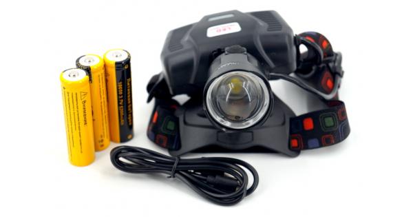 Налобный фонарь Огонь POLICE HT-693-P50