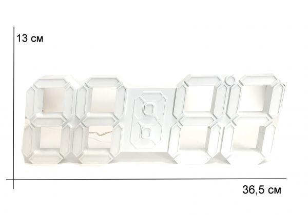 Электронные настенные часы VST-885 (Синий)