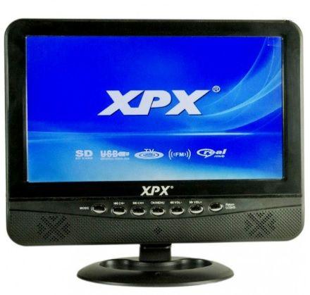 """Портативный телевизор XPX EA-1016D DVB-T2 10,8"""""""