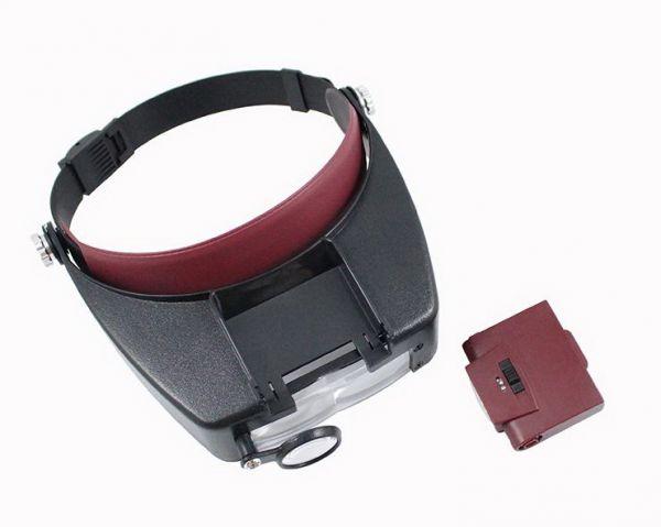 Бинокулярные очки Magnifier Head Strap MG81007-A