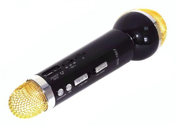 Bluetooth микрофон-караоке со встроенным динамиком WSTER WS-1807