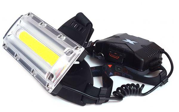 Налобный фонарик CREE W-608