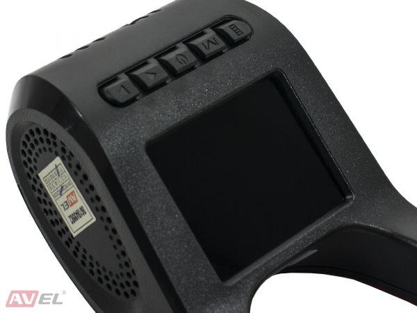 Универсальный автомобильный Ultra HD видеорегистратор AVS400DVR (#120) с монитором и GPS