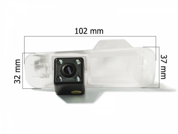 Камера заднего вида AVEL AVS315CPR 036 KIA