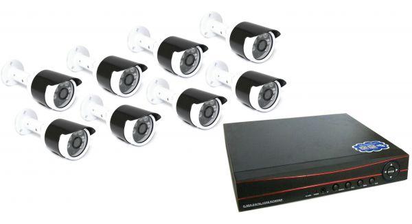 8-ми канальный уличный комплект видеонаблюдения XPX 3908 AHD 4Mp