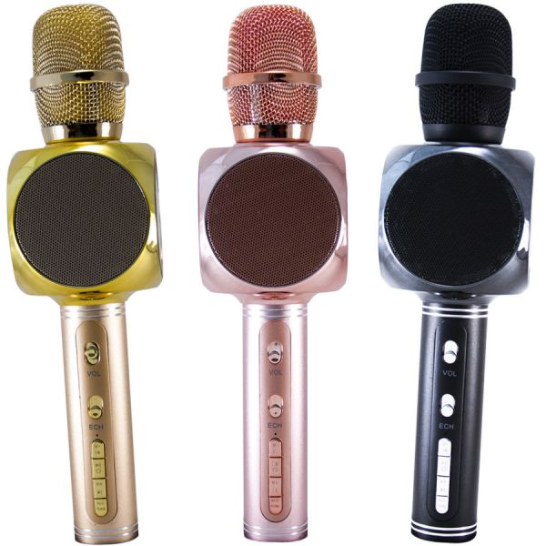 Микрофон-караоке с динамиками SU·YOSD YS-63 (Bluetooth, USB, TF, AUX)