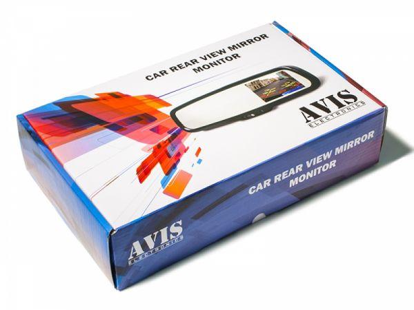 """Зеркало-регистратор заднего вида AVS0410BM со встроенным монитором 4.3"""""""