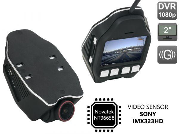 Универсальный автомобильный Full HD видеорегистратор AVS400DVR (#121)