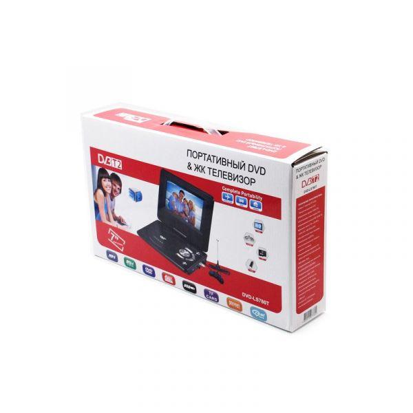 "Портативный DVD плеер 7"" LS-780T c цифровым тюнером DVB-T2"