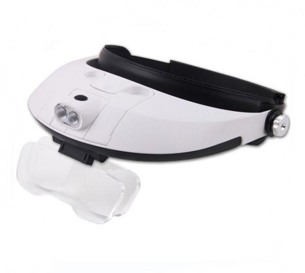 Бинокулярные очки Light Head Magnifying Glass MG81001-G