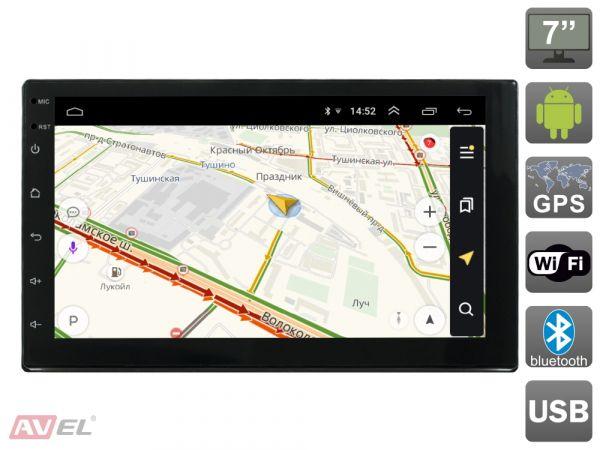 Универсальная магнитола 2DIN AVS070AN (#009) на Android