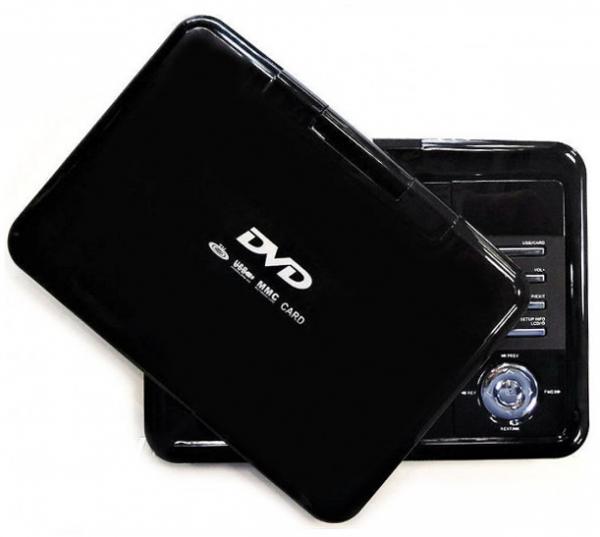 """Портативный DVD плеер XPX EA-9099D (9.8"""") с цифровым тюнером DVB-T2"""