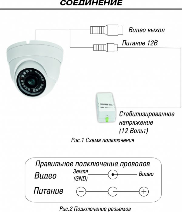 Уличная видеокамера ST-2203 3,6 mm