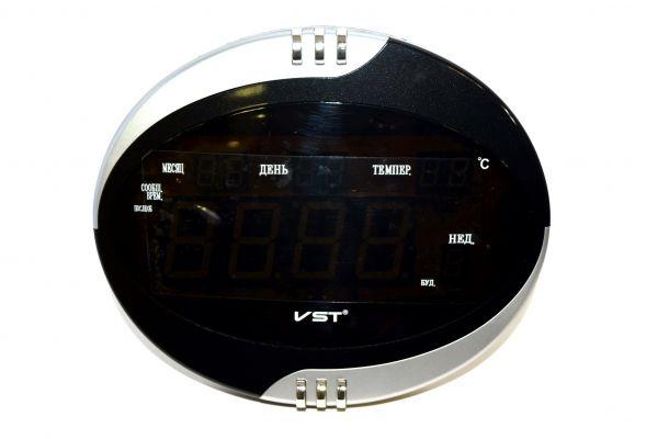 Электронные часы VST 770T-1 (красный)