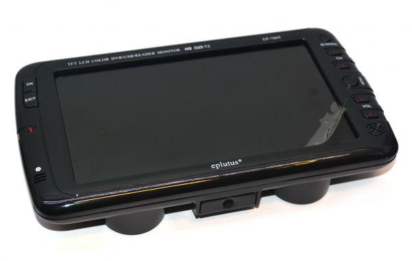 Портативный телевизор Eplutus EP-700T со встроенным цифровым тюнером