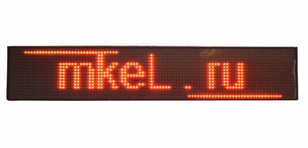 Светодиодная бегущая строка 105x20 см (Red)