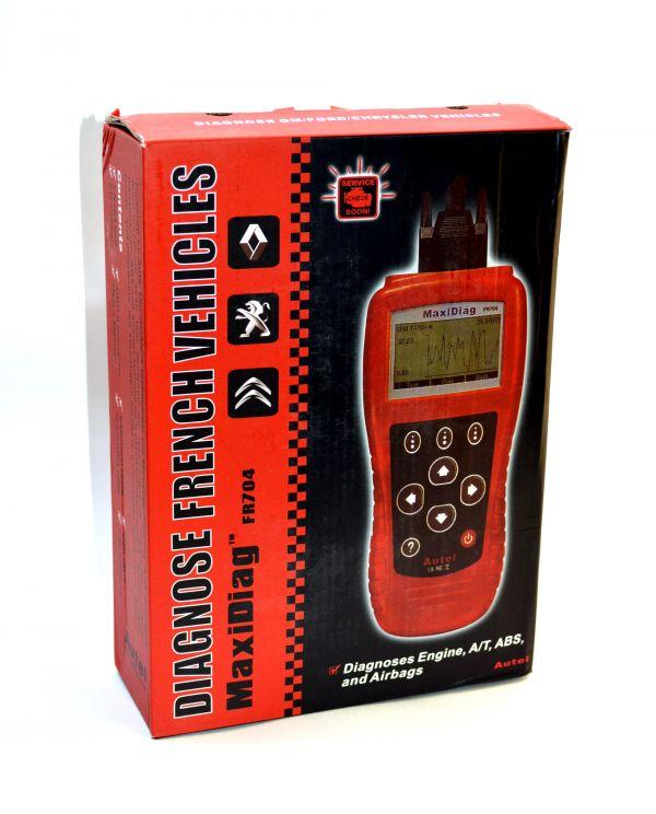 Диагностический сканер Autel MaxiDiag FR704