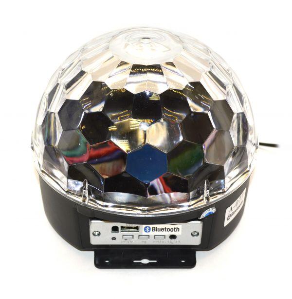 Светодиодный дискошар LED Magic Ball A-077 Bluetooth