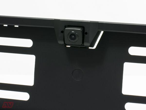 Камера заднего вида в рамке номерного знака AVS303CPR (CMOS)