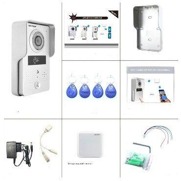 Беспроводной видеодомофон ACTOP WF-602A со считывателем RFID карт