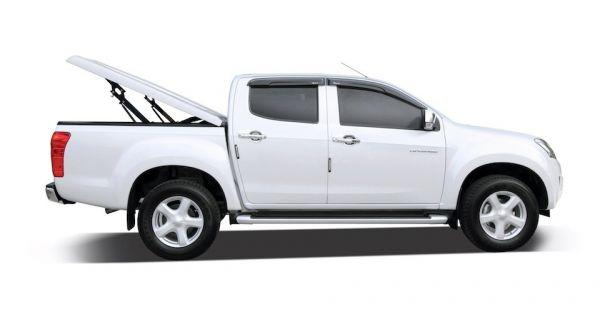 Подъемная крышка Kramco TopUp без дуг (3 положения) Toyota Hilux Vigo Double Cab 1,52м в грунте