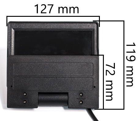 """Автомобильный монитор AVIS AVS0534BM 5"""" с автоматическим приводом для установки на приборную панель"""