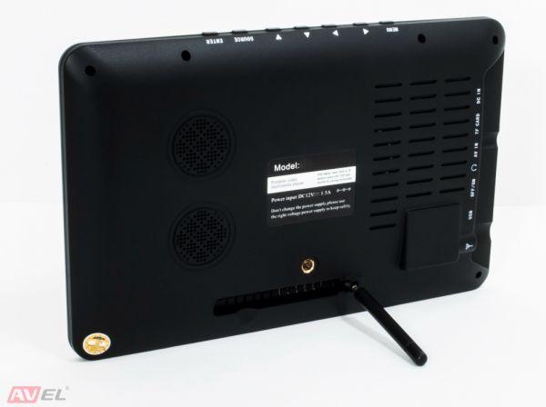 "Портативный телевизор 9"" DVB-T2 AVS090PT"