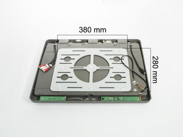 """Потолочный монитор 22"""" со встроенным медиаплеером AVS2220MPP (серый)"""