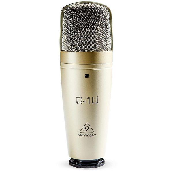Студийный конденсаторный микрофон Behringer C-1U с USB