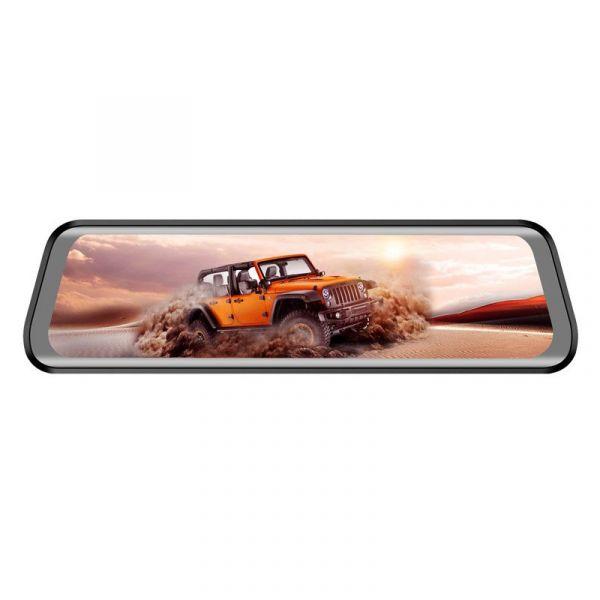 Автомобильный видеорегистратор в виде зеркала с 2-мя камерами Eplutus D40 4G