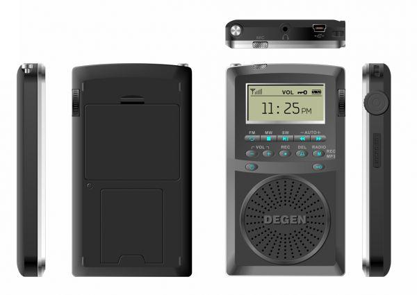 Радиоприемник Degen de-1126