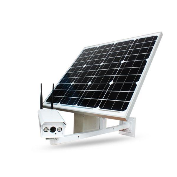 Комплект автономного видеонаблюдения с 4G камерой и солнечной панелью DOZOR Q2A