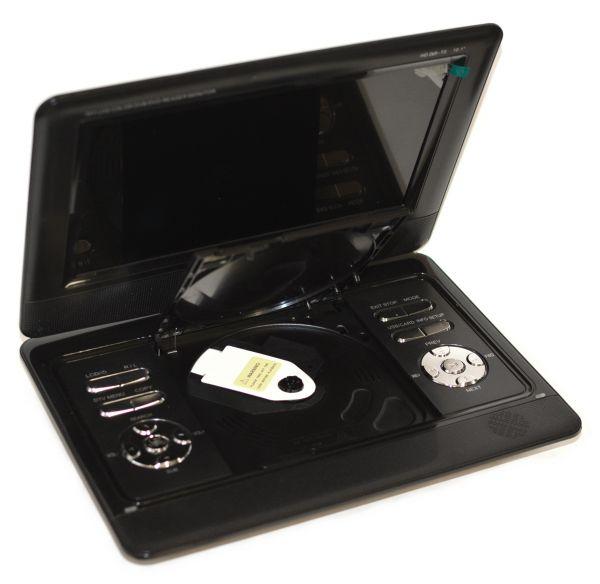 Портативный DVD плеер XPX EA-1048D с цифровым тюнером DVB-T2