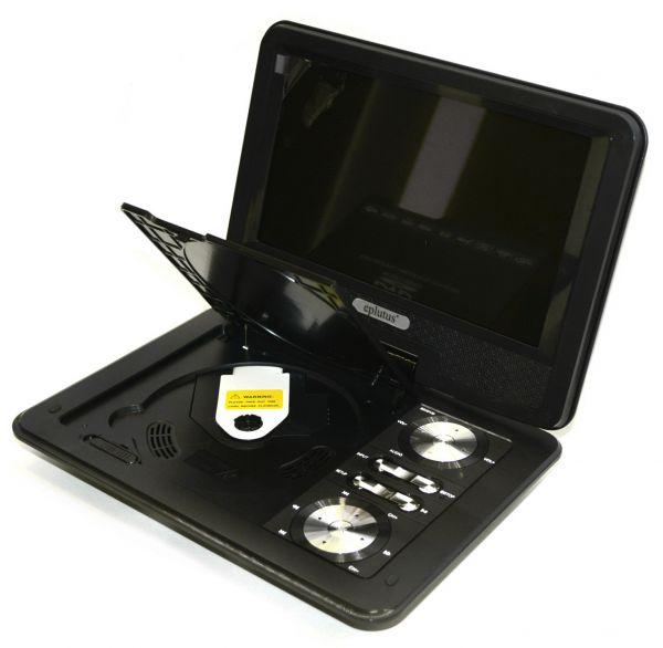 Портативный DVD плеер Eplutus EP-9517T с цифровым тюнером DVB-T2