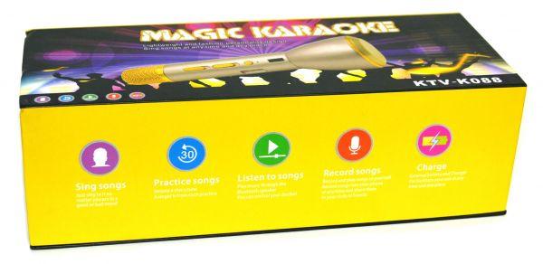 Bluetooth микрофон-караоке со встроенным динамиком Microphone KTV-K088