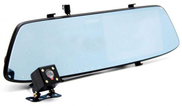 Автомобильный Видеорегистратор Eplutus D06 С Камерой Заднего Вида