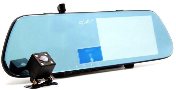 Автомобильный Видеорегистратор Eplutus D08 С Камерой Заднего Вида