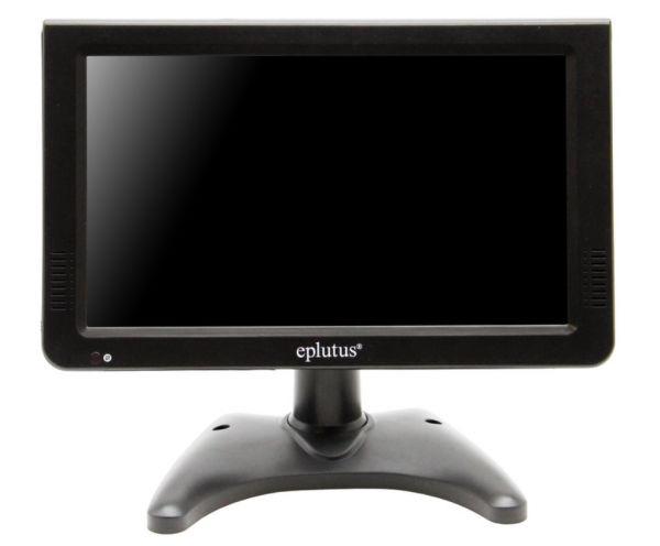 Портативный телевизор Eplutus EP-1019T DVB-T2 аналоговый + цифровой (DVB-T2)