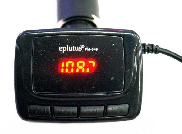 FM-трансмиттер Eplutus FM-649 с Bluetooth
