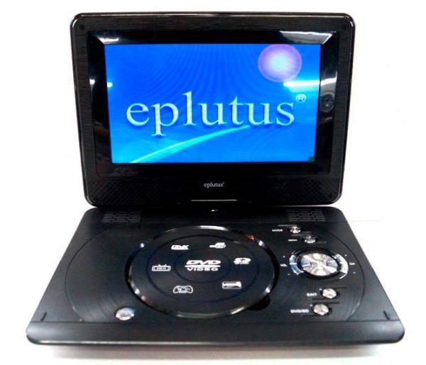 Портативный DVD плеер Eplutus EP-1027T с цифровым тюнером DVB-T2