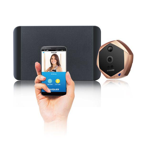Видеоглазок R20 Wi-Fi с датчиком движения