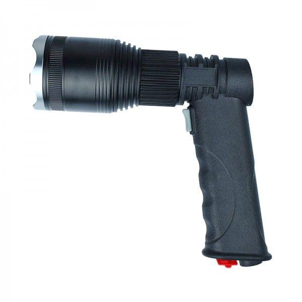 Фонарь прожектор ручной АКБ MX-W535-T6 с треногой и ZOOM