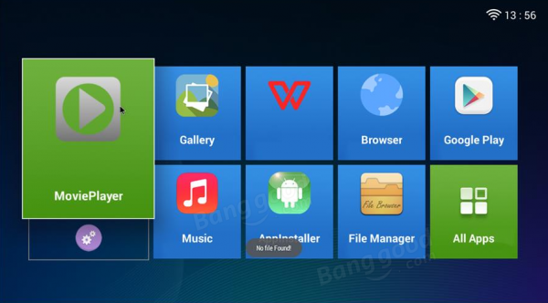 Проектор Simplebeamer GP70UP на Android
