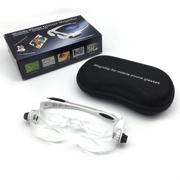 Бинокулярные очки (лупа) NGA-7101-450