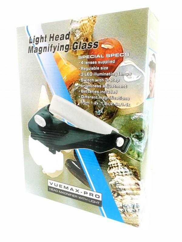 Бинокулярные очки Light Head Magnifying Glass MG81001-E