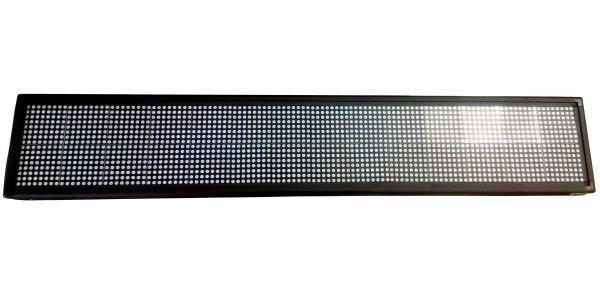 Светодиодная бегущая строка 100x20 cм (Blue)